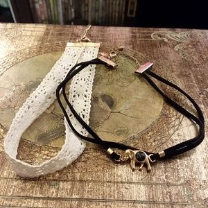 Set of Two Chokers